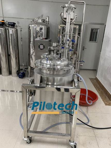 Pilotech Tea Extraction Machine Operation