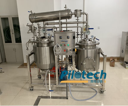 -Pilotech 120L Cannabis Oil Extraction Machine