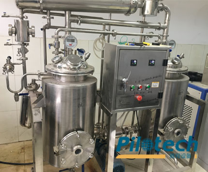 Pilotech Cannabis Oil Extraction Machine In LAB