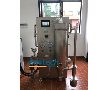 yc018a-3-Inert Loop Pilot Spray Dryer for organic solvent