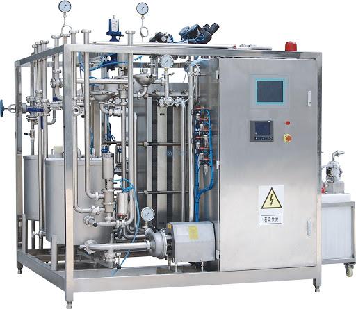 Figure 4 Plate Mini UHT Sterilizer Machine
