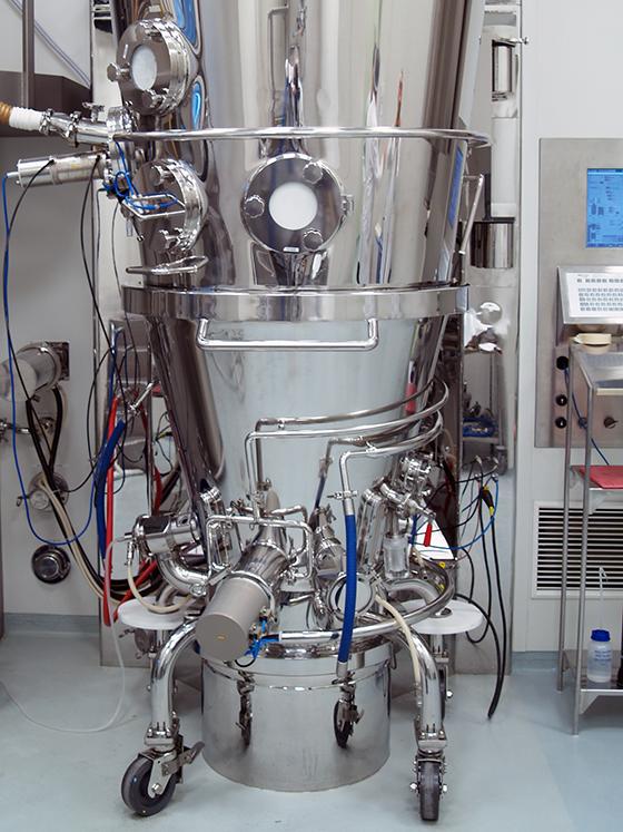 Lab Scale Pharma Fluid Bed Processor