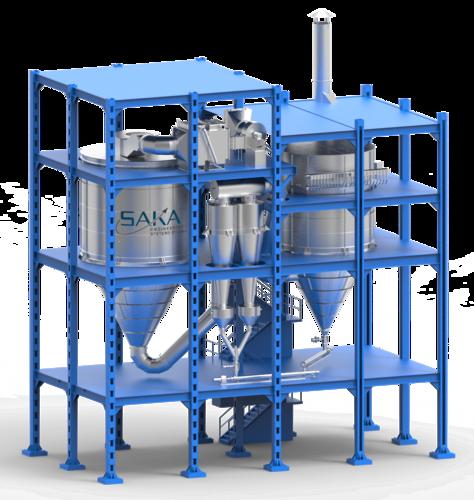 Counter current Flow Food Spray Dryer