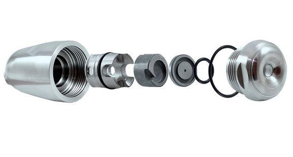 Spray dryer nozzle design